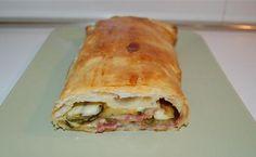 Strudel speck e zucchine, scopri la ricetta: http://www.misya.info/2010/02/11/strudel-speck-e-zucchine.htm