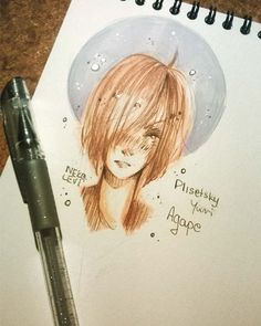 Agape. #yurionice #yuri #on #ice #yurikatsuki #katsukiyuri #yuriplisetsky #plisetskyyuri #victorinikiforov #nikiforovvictor #drawing #draw #anime #manga #art #artwork #artist #picture #sketch #sketchbook #paper #pencil #instaart