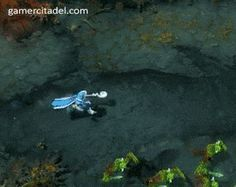 DOTA2 Time Defense Of The Ancients, Angel Of Death, Dota 2, Lol, Funny, Crystal, Animals, Painting, Gifs