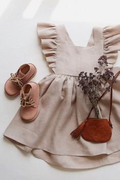 kids fashion Handmade Heirlooms at Dannie and Lilou Fashion Kids, Baby Girl Fashion, Toddler Fashion, Fashion Fashion, Fashion Outfits, Latex Fashion, Fashion Quotes, Fashion Beauty, Vintage Fashion