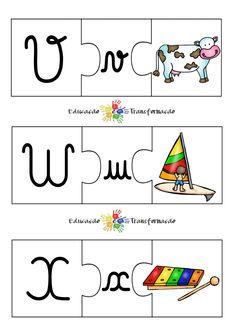 Blog Educação e Transformação: 👍 Alfabeto: quebra-cabeça