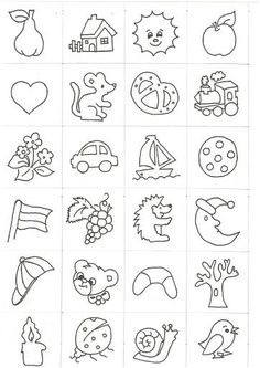Óvodai jelek - Anikó Szabó - Picasa Webalbumok Autism Learning, Learning Activities, Activities For Kids, Literacy Worksheets, Math Literacy, Story Cubes, Baby Sewing Projects, Lessons For Kids, Toddler Preschool