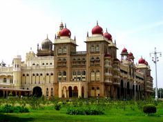 Mysore palace in Southern India.