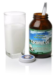 Vanuatu Wild Harvest Coconut Oil www.greennutritionals.com.au