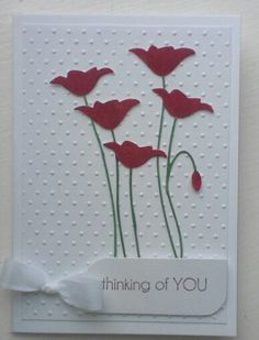 Memory box poppy