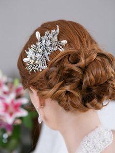 Vintage Bridal Hair Comb