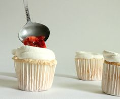 Strawberry Shortcake Cupcakes | The Simple, Sweet LifeThe Simple, Sweet Life