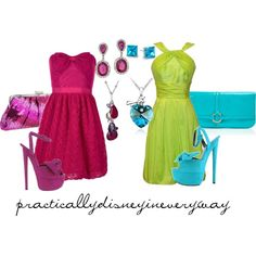 Anastasia and Drizella, created by prettybritty3820 on Polyvore