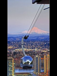 Portland Aerial Tram (David Gn Photography)
