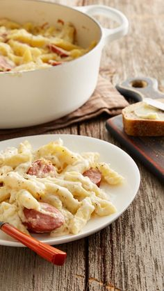 Smoked sausage and cheesy pasta mingle in this crowd-pleasing Italian casserole. Pasta shapes besides penne work in this casserole--try with elbow macaroni, medium shells, radiatore, rotini or cavatappi!