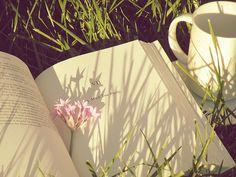 A cuppa, a book & a garden..perfect
