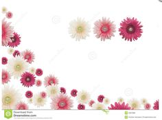 Screenshot from http://becuo.com/pink-flower-borders