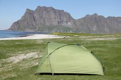 Mit dem Zelt direkt am Strand, traumhaft Lofoten, Strand, Outdoor Gear, Tent, Outdoor Camping, Store, Tents