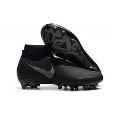online store dd0b3 b168e Nike Soccer Cleats With Sock - Nike Phantom Vision Elite DF FG Black Silver  - Where To Buy Soccer Cleats - Firm Ground - Mens  Size 38,39,40,41,42,43,44,45, ...