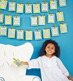 """Make these cards as your Advent calendar. Kids can scratch the paint with a coin each day to reveal a new fun idea.                 Advent clips                 What you'll need:  25 1"""" wood circles, small number stickers (1-25), 2 colors of acrylic paint, paintbrush, 25 miniature clothespins, tacky glue                 Make it:                 1. Press a number sticker firmly on the center of each wooden circle. Apply acrylic paint over sticker and remove sticker immediately; let paint…"""