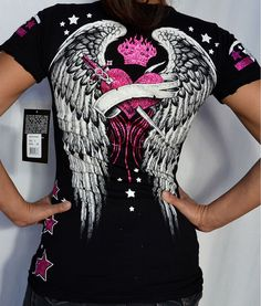 Casual Cosplay, Sexy Outfits, Fashion Outfits, Womens Fashion, Biker Outfits, Gothic Fashion, Look Fashion, Vetement Hip Hop, Affliction Clothing