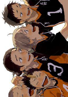 Haikyuu!! Karasuno. Team victory?