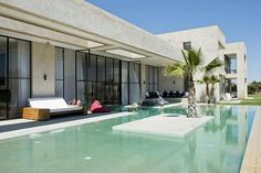 ThiscontemporaryMoroccan villa is ashrine to style and sophistication. Outdoor or terrace and pool.