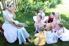 Family Ever After....: A Princess Party with Cinderella.
