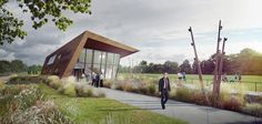 Designed by MoederscheimMoonen Architects. MoederscheimMoonen Architects has been given the go-ahead for construction of a new training complex for Rotterdam's leading football club,...