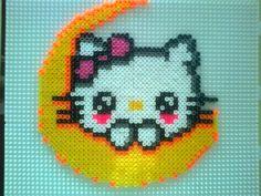 Hello Kitty hama perler beads by tinibus