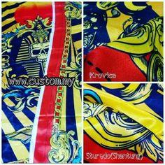 Nak print kain dengan design sendiri??? . Nampak customer ini...