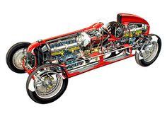 ZONA RÁPIDA: mayo 2013 Alfa Romeo, Cutaway, Sport Cars, Race Cars, Ferrari, Daytona, Alfa Alfa, Gilles Villeneuve, Car Drawings
