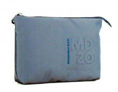 !!!Mandarina Duck Hygienebeutel MD20 Blue Mirage blau schimmer Nylons, Bags, Sachets, Handbags, Women's, Nylon Stockings, Bag, Totes, Hand Bags