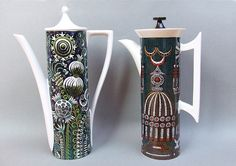 1970s Magic City & Magic Garden Portmeirion pottery