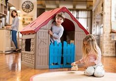 NEW Kids Foldable Garden Playhouse Portable Indoor Outdoor Wendy House Toys Play #NEWKidsFoldable