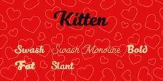 Kitten Font Family · 1001 Fonts