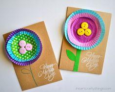 Tarjetas del Día de la Madre caseras