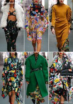 Preen – Fall 2017 – RTW – London Fashion Week – Print & Pattern Highlight