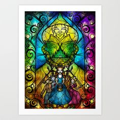 Off+to+see+the+wizard+Art+Print+by+Mandie+Manzano+-+$15.60