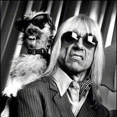 Iggy Pop and pup