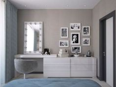 52 Beautiful Dressing Table Design For Your Room #Furniture #