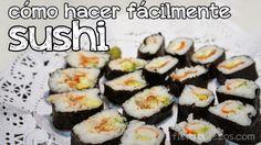FieltropiezosDiy: Una cenita con los amigos (o cómo hacer sushi fácil)