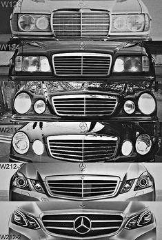 Grappig om de ontwikkeling te zien maar de laatste vind ik toch de mooiste Funny to see the development, but I think the latter is the best Mercedes E Class, Benz E Class, Mercedes Car, Mercedes Benz Cars, Mercedes Stern, Mercedes Sprinter, M Benz, Mercedez Benz, Daimler Benz