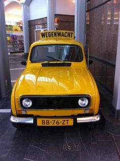 Renault 4, Wegenwacht, jaren '70