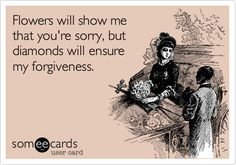 Apologize with Tiffany's: :)