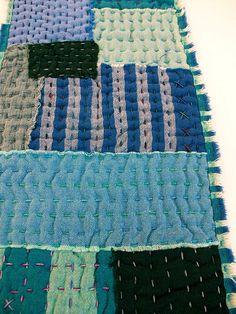 running stitch quilt