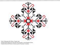 Pomul vietii - Dobrogea  Model descifrat si desenat de catre Simona Niculescu Creative Embroidery, Folk Embroidery, Cross Stitch Embroidery, Cross Stitch Patterns, Palestinian Embroidery, Brick Stitch, Beads And Wire, Pattern Art, Hand Stitching