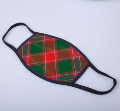 non medical face covering with Dalziel printed tartan  - only from ScotClans