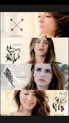 Allison (actrice : Crystal Reed), Malia (actrice : Shelley Hennig), Lydia (actrice : Holland Roden) et Kira (actrice : Arden Cho) Stiles Teen Wolf, Teen Wolf Isaac, Teen Wolf Cast, Teen Wolf Dylan, Teen Wolf Malia, Teen Wolf Allison, Stiles Derek, Teen Wolf Memes, Teen Wolf Quotes