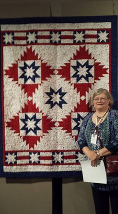 East Central IL Quilts of Valor: East Central IL Area Quilter and her Two Quilts are Chosen! w/QOV Pattern Update...
