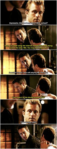"""""""You're a liar. No I'm not."""" - literally one of my fav #H50 scenes"""