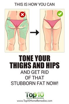 This is How You Can Tone Your Thigh and Hips and Get Rid of Stubborn Fat!