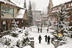 Whistler Village: Jesus, please take me back there.    #bron