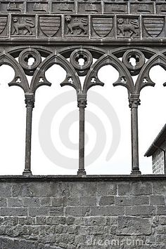 medieval arches