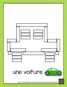 reglettestouslesjours-page-009 1st Grade Math, Busy Bags, Numeracy, Weaving Techniques, Teaching Math, Teaching Ideas, Kids House, Transportation, Homeschool
